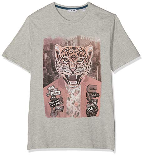 c1110d24b9b80 Only & Sons Onsloris SS Funny tee Camiseta, Gris, Small (Talla del  Fabricante:): para Hombre