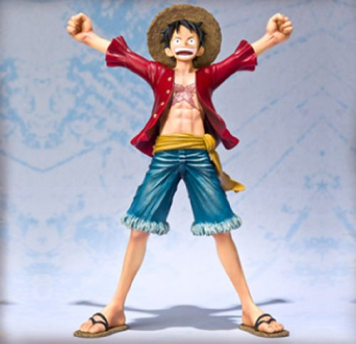 One Piece: Monkey D. Luffy Figuarts Zero Figure (New World Ver.) [Toy] (japan import) 3
