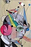 Posterlounge Alu Dibond 120 x 180 cm: Starman von Loui Jover