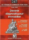 Devenir diagnostiqueur immobilier de Alain Périé (22 mai 2008) Broché...