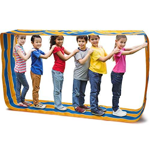 Boao Teamarbeit Spiele Gruppe Lern Aktivität Spaß beim Spielen Lauf Matte, Team Spiele, Team Aufbau Aktivitäten (Farbe A, 1 Stück)