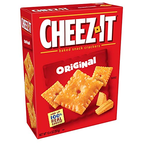 Cheez-It Baked Snack Crackers Cheez it 12.4oz (351g) Cheez It ...