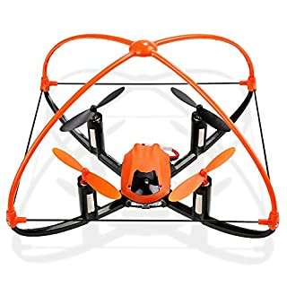 Arshiner XT 001A Headless Mode 360 Protection RC Quadcopter Drone with Flashing Lights 4 CH 2.4GHz 6 Axis Gyro
