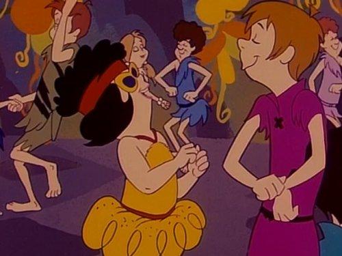 Bamm Bamm und der Affentanz - Flintstones Pebbles Feuerstein Kostüm