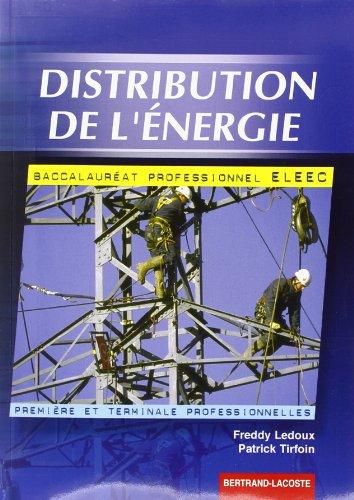 Distribution de l'énergie, baccalauréat professionnel ELEEC, première et terminale professionnelles