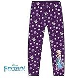 Leggings für Mädchen mit süßen Elsa Motiv von Disney Frozen (134 cm)