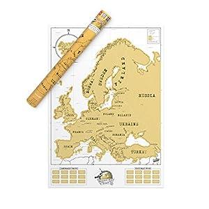 Luckies of London Lukeu – Mapa para rascar, edición Europa