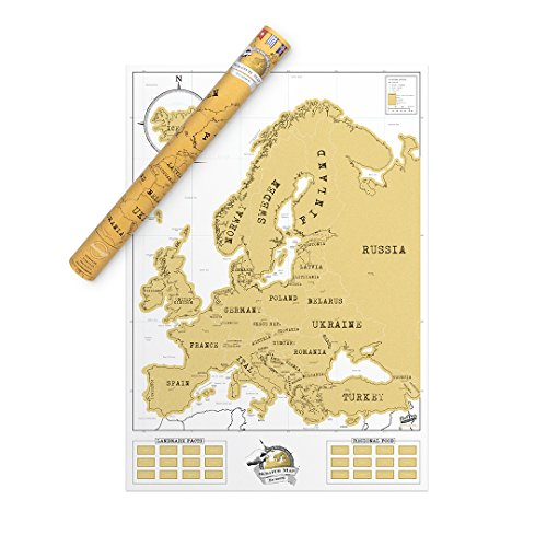 Luckies Of London, LUKEU, Mapa De Europa, Mapa Fisico