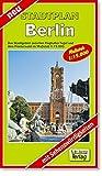 City Map, Stadtplan Berlin: Das Stadtgebiet zwischen dem Flughafen Tegel und Neukölln im Maßstab 1:15000 (mit Sehenswürdigkeiten) - Verlag Dr. Barthel