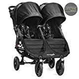 Baby Jogger City Mini GT-Kinderwagen, Double-Modell, schwarz (BJ16410)