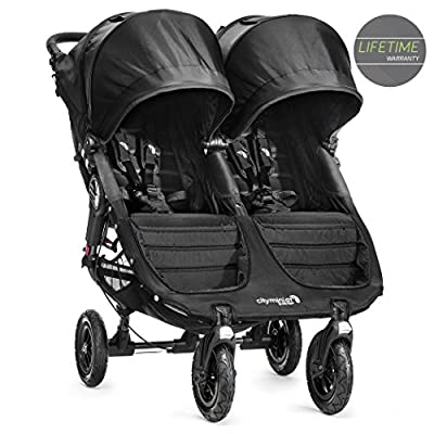 Baby Jogger City Mini GT Double Stroller Black