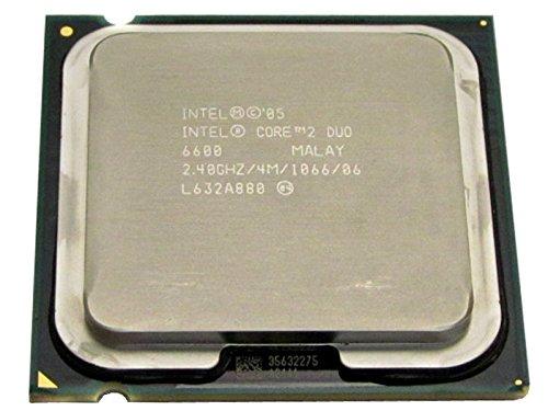 HP Intel Core 2 Duo E6600 2.4GHz 4MB L2 - Procesador (Intel Core2 Duo, 2,4 GHz, LGA 775 (Socket T), PC, 65 NM, E6600)