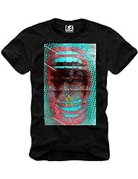 E1SYNDICATE T-SHIRT LSD BLOTTER ART ALBERT HOFMANN LSA 25 MESCALINE XTC 633b S-XL