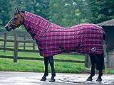 Masta Matchmakers Quiltmasta Check 120 stark von Krippenstall Hals rot Rot (Burgunderrot) 137,2 cm