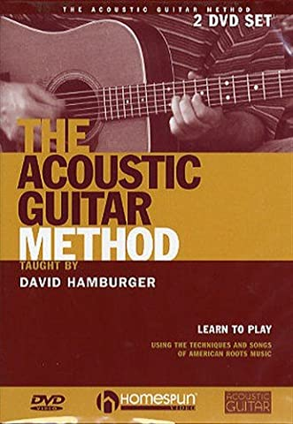 David Hamburger: The Acoustic Guitar Method. Pour Guitare