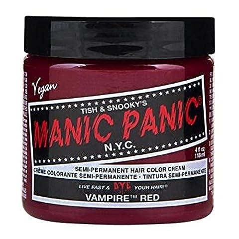 Manic Panic High Voltage Classic Cream Formula Colour Hair Dye (Vampire Red)