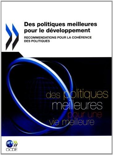 Des politiques meilleures pour le développement par Organisation de coopération et de développement économiques (OCDE)