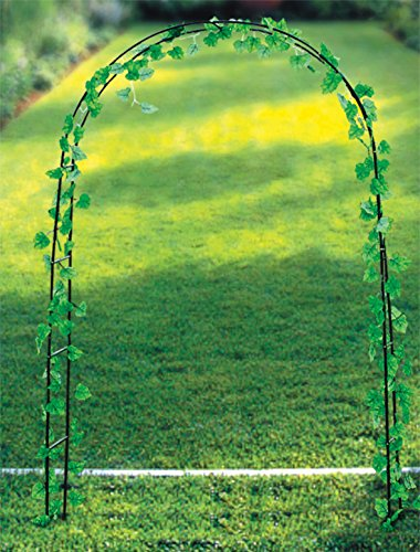 Arco decorativo per fiori e piante rampicanti 137x38x200 cm.