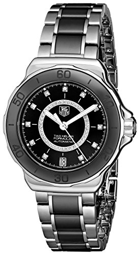 TAG Heuer Women's THWAU2210BA0859 Formula 1 Analog Display Swiss Automatic Silver Watch