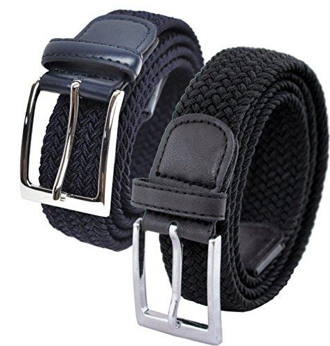 Ashford Ridge Hombres negro Azul oscuro cinturones
