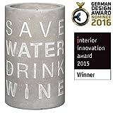 Räder Vino Beton Weinkühler Save Water Drink Wine - 3