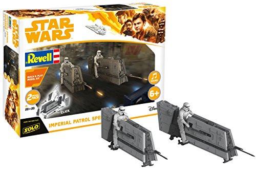 Revell 06768 Imperial Patrol Speeder aus Disney Star Wars HAN Solo Build & Play-BAU-und ()