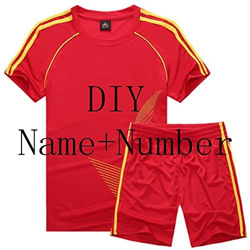 Maglia da calcio costumi sportivi per bambini abbigliamento completo da calcio kit per le ragazze estate abiti per bambini ragazzi abbigliamento ragazzi set uniformi,personalizzato,bambino s
