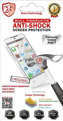 Preisvergleich Produktbild 'Bull 1302081Clear Galaxy Note 31pc (S) Screen Protector–Screen Protectors (Clear Screen Protector, Mobile Phone/Smartphone, Samsung, Galaxy Note 3, Transparent, 14.5cm (5.7))