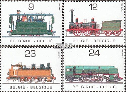 Prophila Collection Belgien 2222-2225 (kompl.Ausg.) postfrisch 1985 Öffentliches Verkehrswesen (Briefmarken für Sammler)