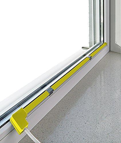 Antikon-Set 80 (gelb) Fensterheizung gegen Kondenswasser an Fensterscheiben. Auspacken. Einstecken. Fertig !