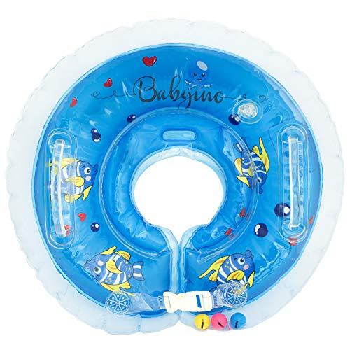 Babyino Babyschwimmring Baby Schwimmring Badewanne Pool Aufblasbarer Schwimmender Ring Reifen Säugling