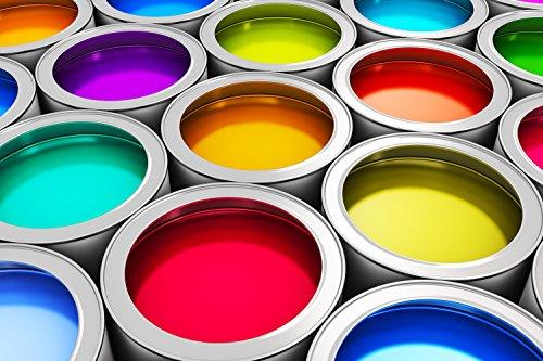 Betonfarbe Bodenfarbe Bodenbeschichtung Garage Garagenboden Rapsgelb 5L