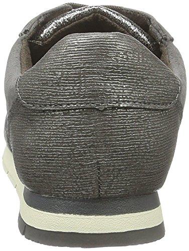 Tamaris 23617, Baskets Basses Femme Gris (Pewter St Comb 980)