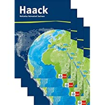 Der Haack Weltatlas. Ausgabe Sachsen Sekundarstufe I und II: Weltatlas in vier Teilbänden Klasse 5-12