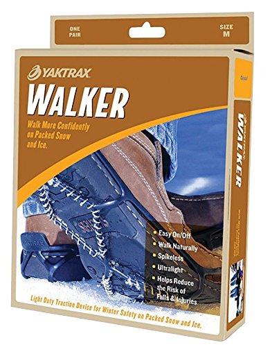 3-7 Yaktrax Walker safety anti-slip ice grips for regular footwear Size 3-7