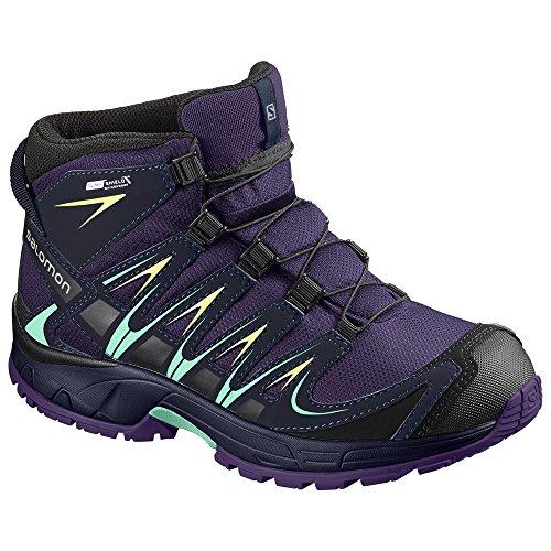 Salomon XA PRO 3D Mid CSWP Trail Laufschuh Kinder 2 UK - 34 EU (Skate Schuhe Mid 2)