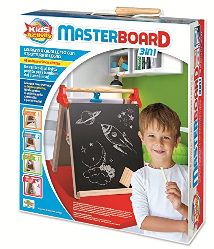 RSTA 9416 – Whiteboard Master Board 3 in 1 (Kreide Board Stativ)