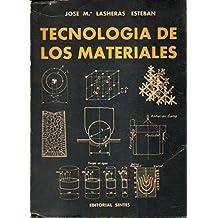 TECNOLOGÍA DE LOS MATERIALES. Con firma del anterior propietario.