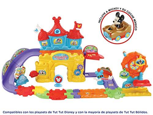 TUT TUT Disney - Tout von Micky und ihrem Laufstall von Autos, Farbe (vtech 3480-512422)