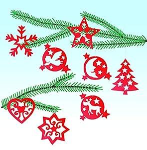 Pebaro 843/2 - Set de Manualidades de Madera - Decoración para árbol de Navidad 2