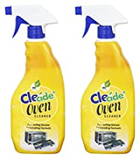 Clecide Oven Cleaner (Can also be used for Gas Burners, Gas Stoves, Grills & Chimneys) - 500 ml Pack of 2