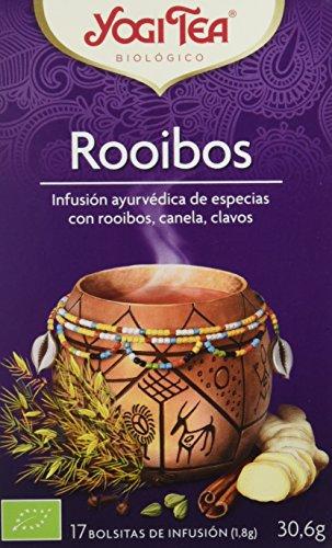 Yogi Tea Infusión de Hierbas Rooibos - 17 bolsitas - [pack de...