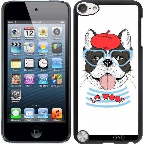 Hülle für Ipod Touch 5 - Französische Bulldogge by Olga Angelloz Design - 5 Touch Ipod Furry Fällen