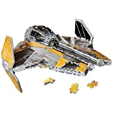Star Wars Jedi Star Fighter 3D Puzzle, 200-Piece by Disney [Toy] (English Manual)