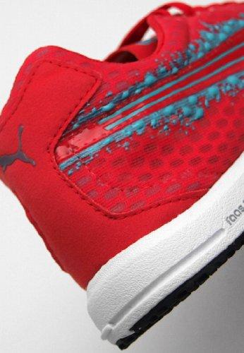 Puma Faas 200 R Wn's Laufschuh Hibiscus / Blue Cur Red