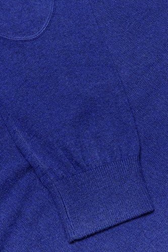 Kitaro Herren Pullover V-Kragen Buenos Aires - City Dunkelblau