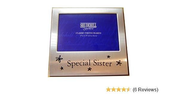Special Grandaughter Satin silver photo frame-shudehill Giftware