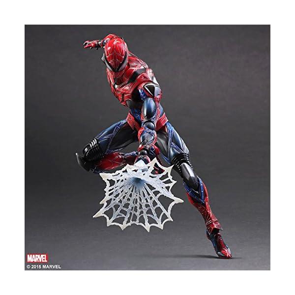 Square Enix Spiderman Marvel Universe Play Arts Kai Figura de acción 6
