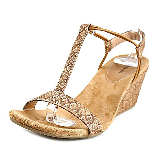 Style & Co Mulancar Synthétique Sandales Caramel-Gold