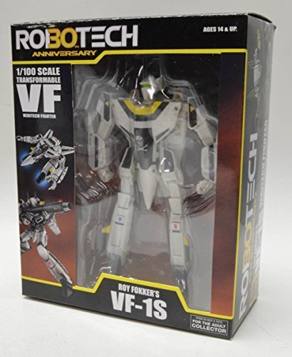 Robotech 30th Anniversary Roy Fokker VF-1S Transformable 1:100 Scale (Series 1) Action Figure by Toynami